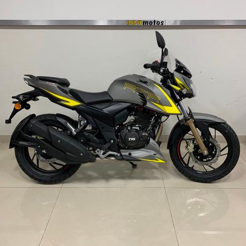 tvs rtr 200 fi inyeccion moto calle nacked 999