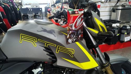 tvs rtr 200 fi   solo en sauma motos entrega inmediata