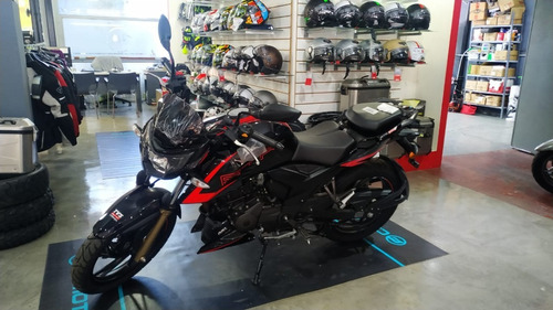 tvs rtr 200 solo en sauma motos  color negro