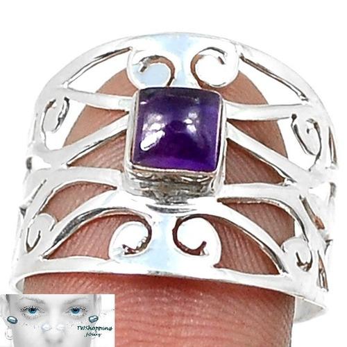 tw anel ametista - prata 925