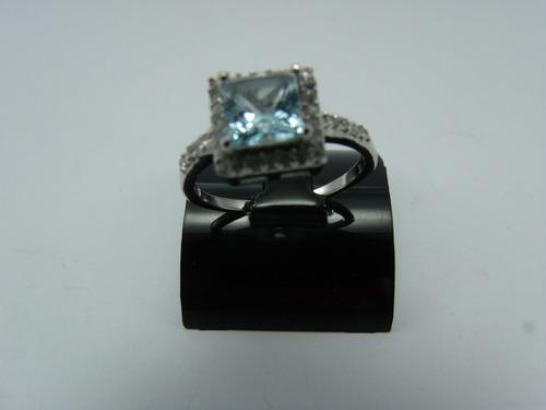 tw anel formatura topázio sky blue aro:15.5