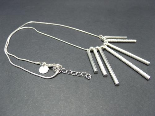 tw colar com pingentes prata 925