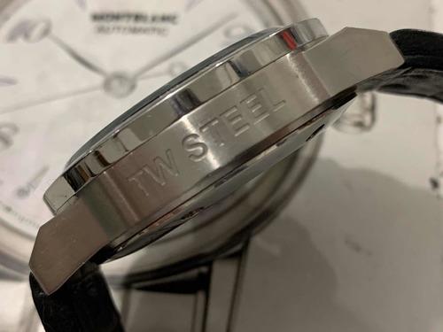 tw steel chronograph wr100m quartz
