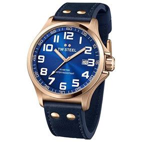 2bc2b3b61b2f Pulsera Acero Tratamiento Pvd Oro - Relojes de Hombres en Mercado ...