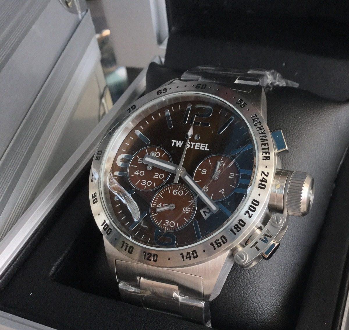 67d2fcf263 Tw Steel Reloj Hombre Canteen Quartz 45mm Cronógrafo - S/ 750,00 en ...