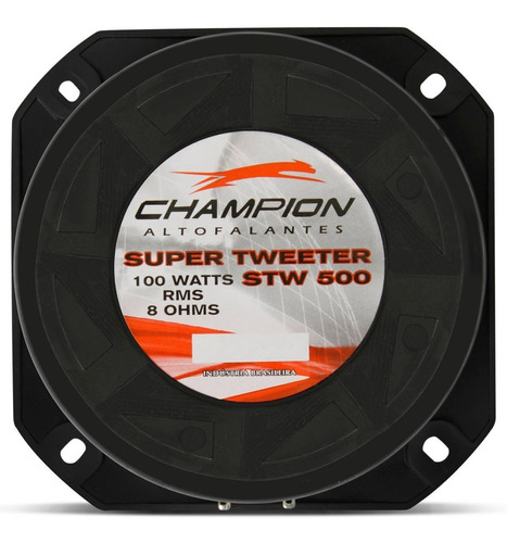 tweeter 100w rms champion stw500 8 ohms fenolico super trio