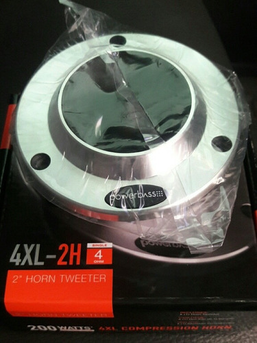 tweeter 2 plano power bass 200 wts 4 ohm 4xl-2h