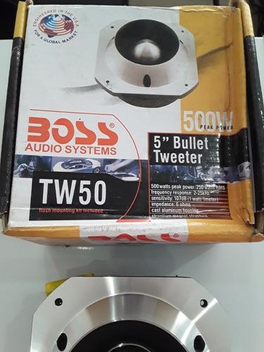 tweeter bala de 500 watts boss modelo tw50 rma