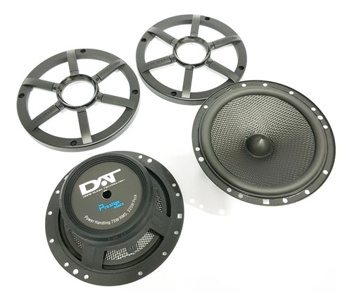 tweeter crossover woofer dat ck 650 2 vias