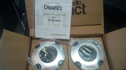 tweeter distinct audio 25mm 400 wts 800 ohm
