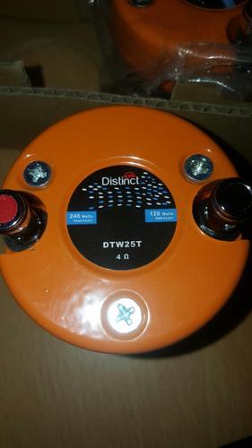 tweeter distinct audio dtw25t 240 w  4 ohm precio unidad