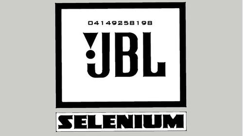 tweeter jbl selenium mod 1tw1 140w 1 pulgada, nuevos sellado