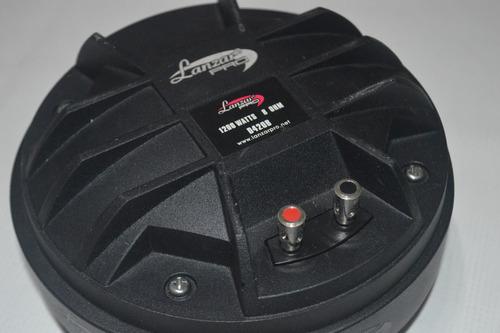 tweeter lanzar tipo driver - d420b / 1200 watts / 300 rms