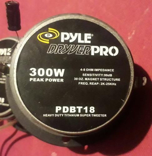 tweeter pyle driver pro