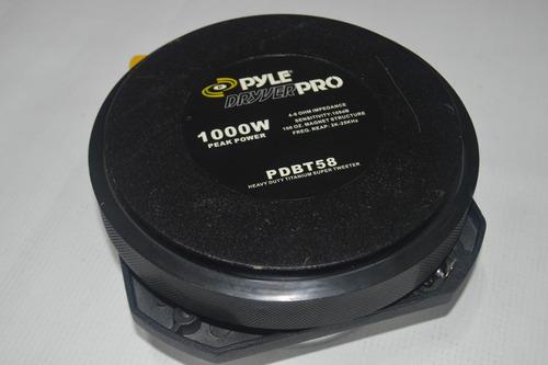 tweeter pyle - pdbt58 - 1000 watts / 500 rms ( unidad )