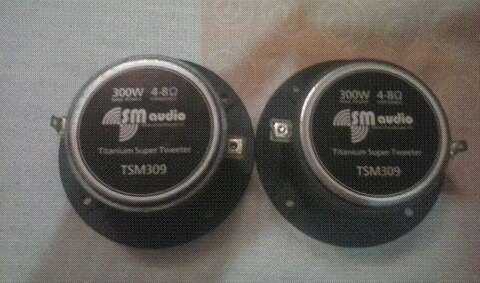 tweeter sm audio tsm-309 300w el par