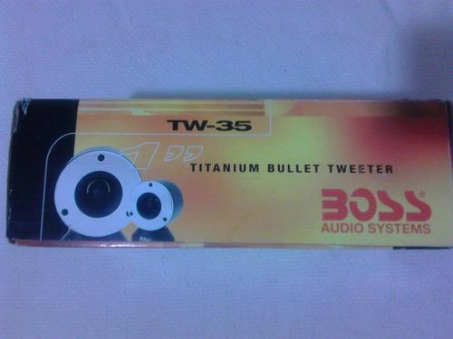 tweeter titanium marca boss tw-35 1 pulg 300 watts