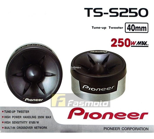 tweeter tune-up pioneer ts-s250