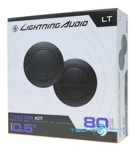 tweeters 1 pulg lt lightning audio 40 rms-rockford-kicker-mt