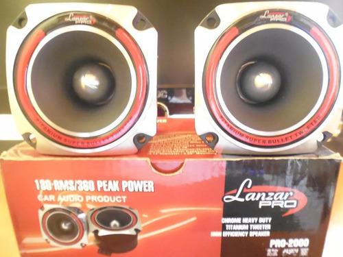 tweeters balas lanzar pro-2000 original sound car 360w par