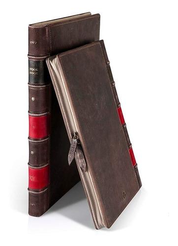 twelvesouth funda cuero para macbook air y pro 13 bookbook