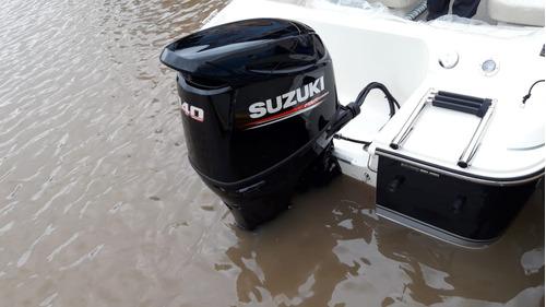 twenty sport con suzuky 140 hp 4 tiempos todo okm