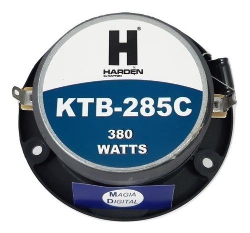 tweter de bala  agudos 380 watts cromado  harden ktb-285c