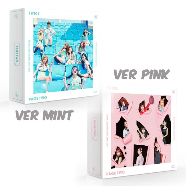 Twice 2nd Mini Album - Page Two (version Mint O Pink) Cd