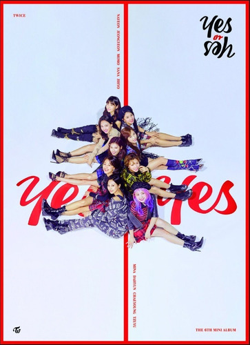 twice disco yes or yes! ver. roja  incluye poster kpop cd