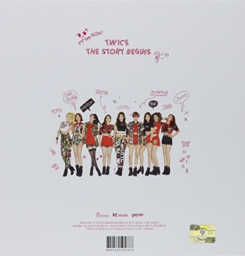 Twice Story Begins Asia Import Cd Nuevo