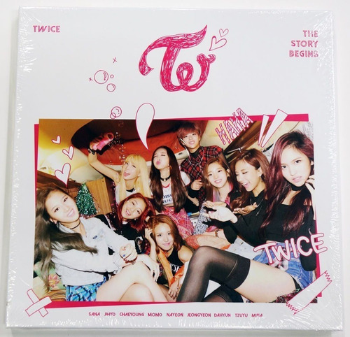 twice the story begins 1st mini album cd+photobook k-pop