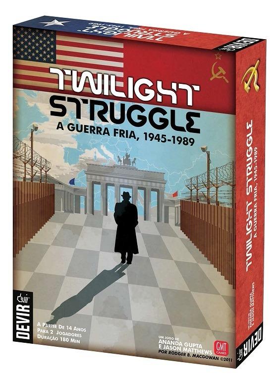 Twilight Struggle Juego De Mesa En Espanol 899 00 En Mercado Libre