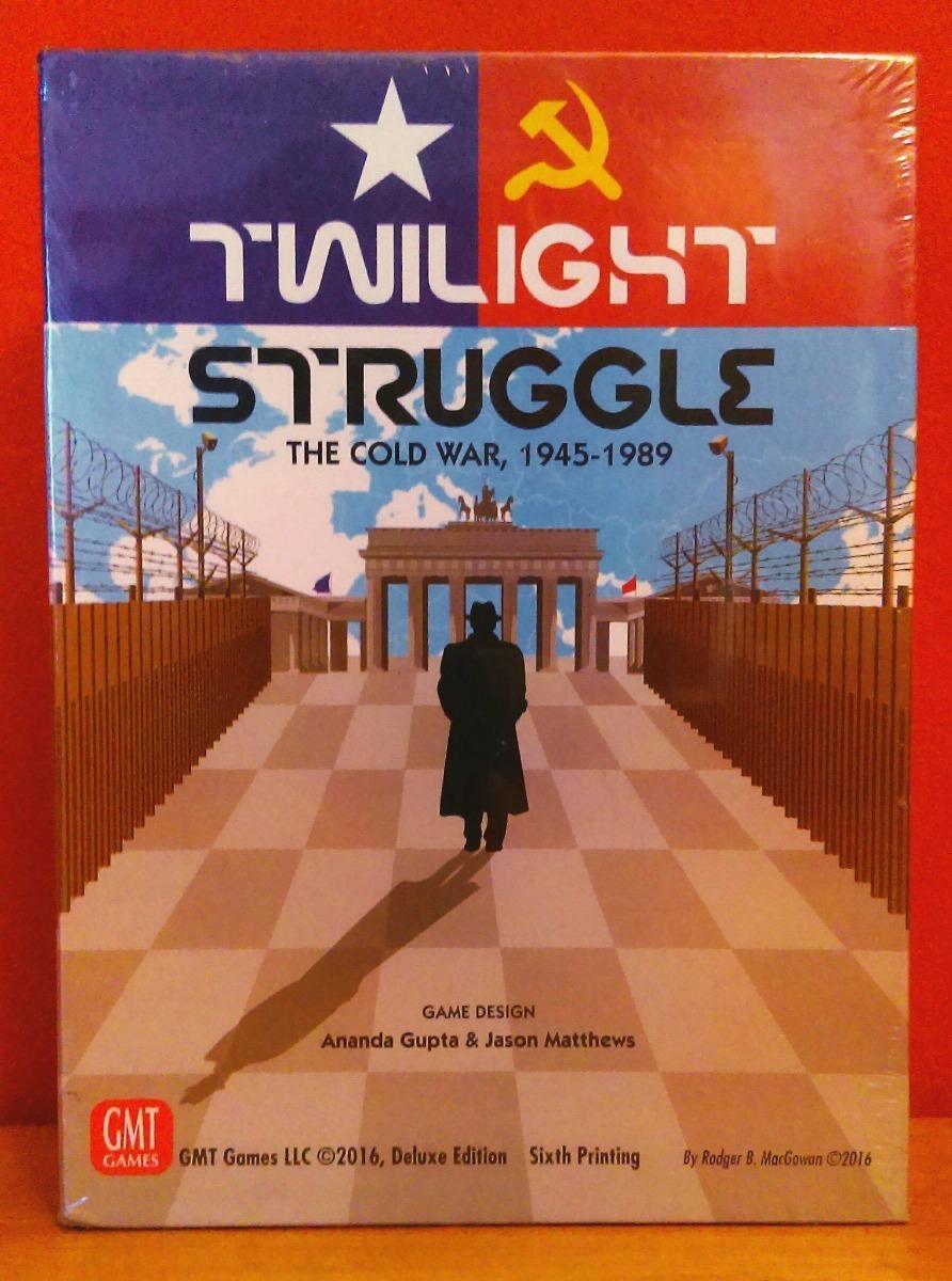 Twilight Struggle Sellado Juego De Mesa Wargame Boardgame