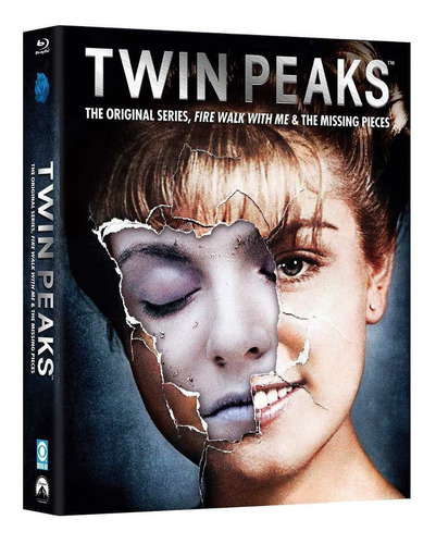 twin peaks temporadas 1 uno y 2 dos serie completa blu-ray
