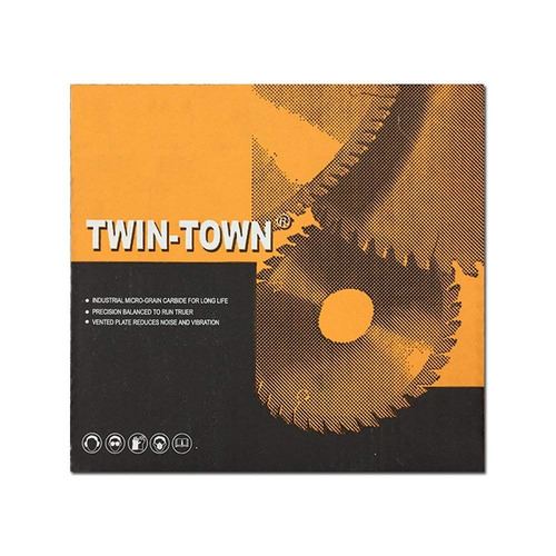 twin-town 12-inch 96 diente tcg aluminio y hoja de sierra me