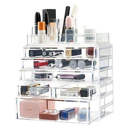 twing organizador joyas maquillaje acrílico premium clear 93