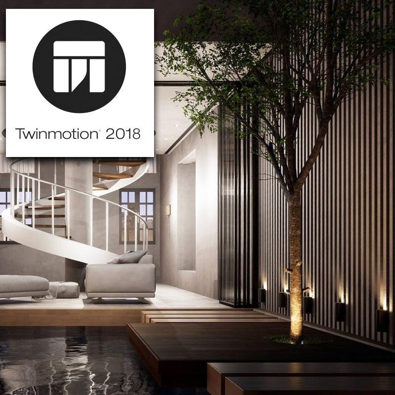 Twinmotion 2018 V2 - Para Windows - Concorrente Do Lumion