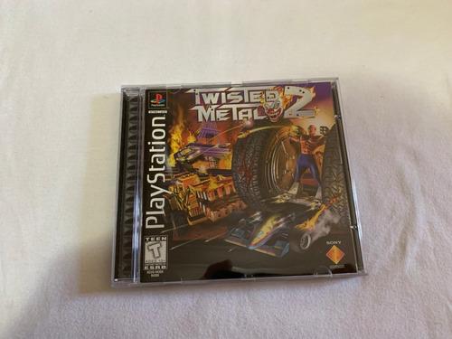 twisted metal 2 ps1 original americano