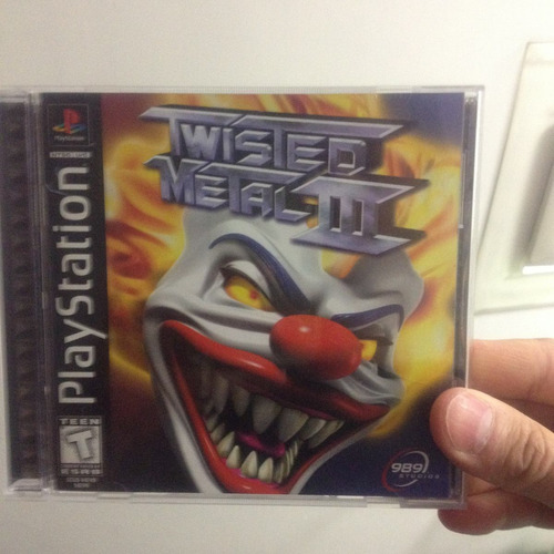 twisted metal 3  ps1 compatible con ps2