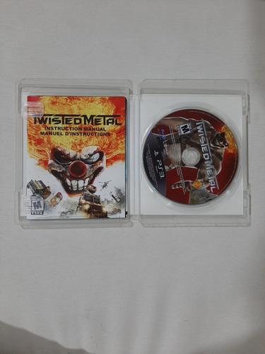 twisted metal edición limitada ps3 fisico