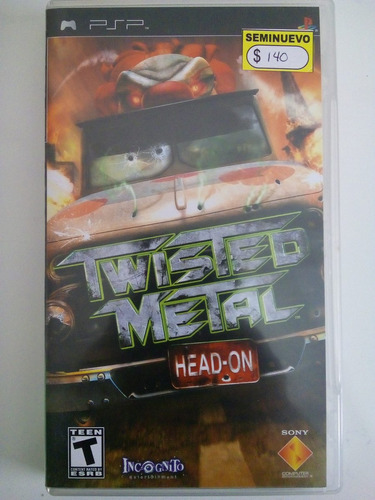 twisted metal head-on _ shoryuken games _ psp