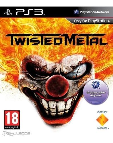 twisted metal ps3 original entrega inmediata