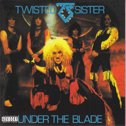 twisted sister (álbunes en estudio)