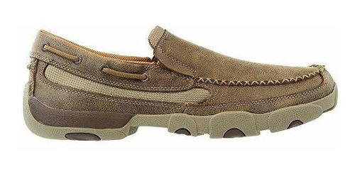 twisted x hombres conduccion slip-on moccasin zapatos moc to