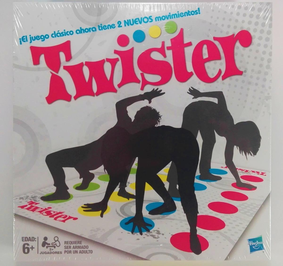 Twister Clasico Juego De Mesa Hasbro 250 00 En Mercado Libre