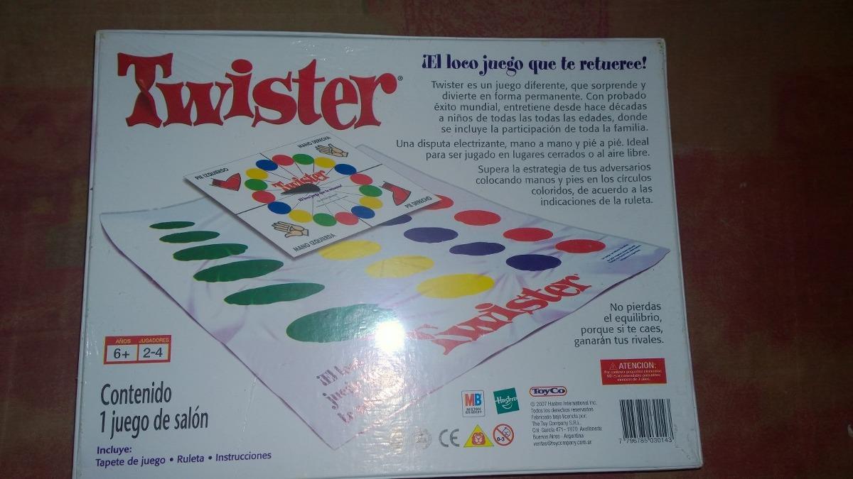 Twister Juego De Mesa 419 00 En Mercado Libre