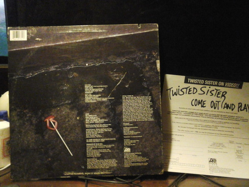twister sister love is for suckers vinilo usa