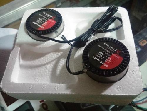 twitters kombat 250 watts modelo: kbt-s250  nuevos