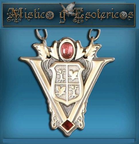 twlight medalla escudo vulturi en plata 92. modelo 03