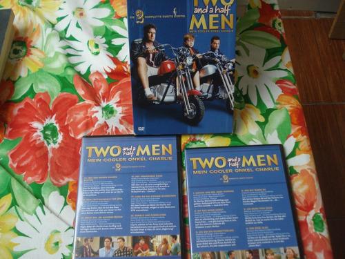 two and a half man - 2da temporada - 4 dvd's